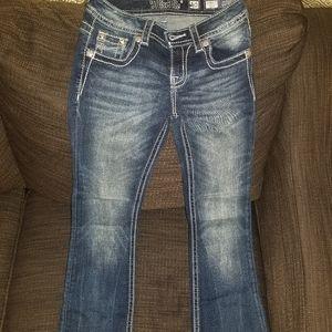 Little Girls Miss Me jeans